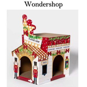 Wondershop Christmas Theater Cat Scratcher NIB